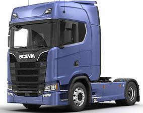 3D model SCANIA S730 Semi Truck