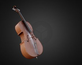 3D model Classic Cello PBR