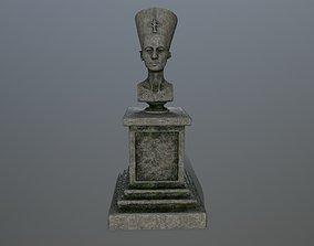 3D asset realtime Nefertiti
