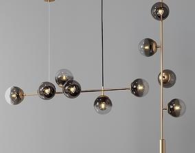 3D model Modern Horizontal and Vertical Lighting