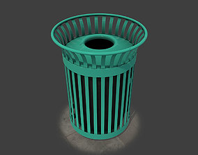 New York Trash Can 3D model