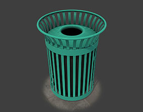 New York Trash Can 3D model