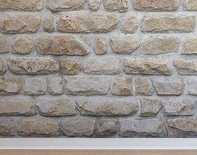 3D model realtime Stone cladding Stone 001