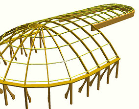 3D model construction of the dome