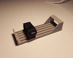 Custum LiPo battery holder for Gens 3D printable model 3