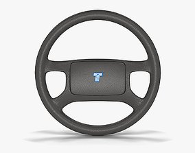 Tofas Steering Wheel 3D asset