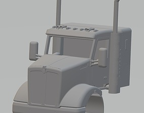 Kenworth T610 Printable Cab Truck