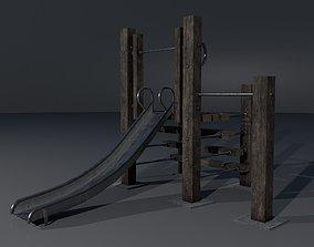 3D model Old playground PBR