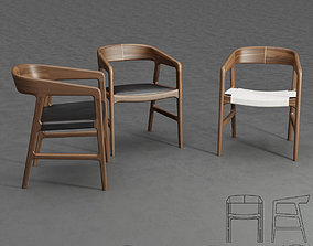 Artisan Tesa Chair 3D
