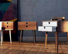 Night Table Retro from Habitables 3D