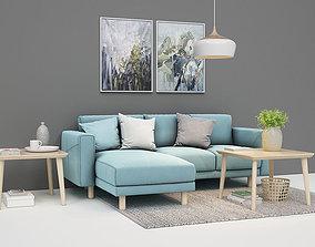Sofa setup 01 3D