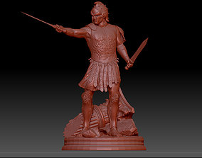 3D printable model Roman Gladiator Warrior Maximus