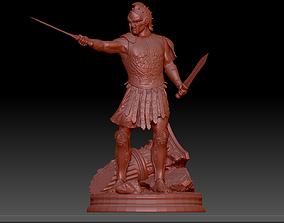 3D printable model Roman Gladiator Warrior Maximus