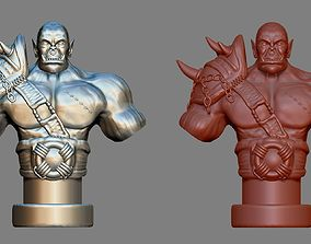 Armored Orc Warrior Printable 3D model