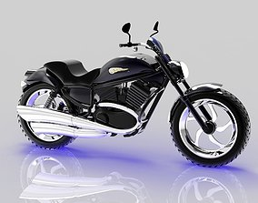 Harley-Davidson 3D model realtime