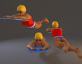 3D model SwwimmingPool Female BCC 2130 011