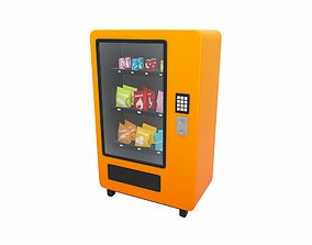 Vending Machine 3D model candy
