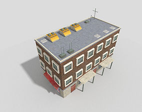 3D asset VR / AR ready Residential Building