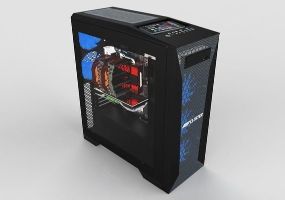 Cluster Sheet Metal PC Case