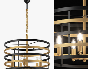 735050 Epsilon Lightstar Chandelier 3D
