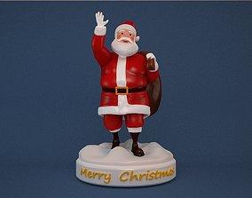 Santa Claus print ready