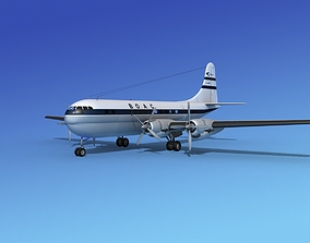 3D model Boeing 377 BOAC 2