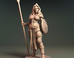 3D printable model Aglaia - Daugher of Athena