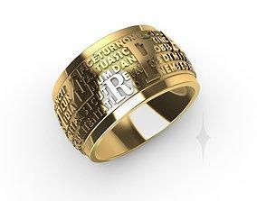 Ring Moviment prayer Ring 3D print model