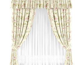 Curtain 3D model 34