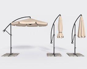 3D model Umbrella Deck Parasol 2