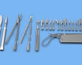Medical surgical set 3D
