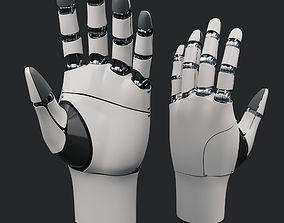 future Robot Hand 3D model