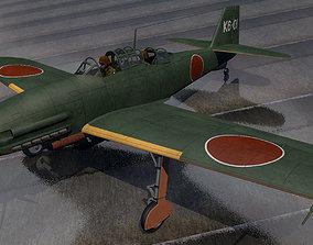 Aichi M6A1-K Nanzan 3D model