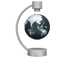 Modern Magnetic Suspended Globe 3D model