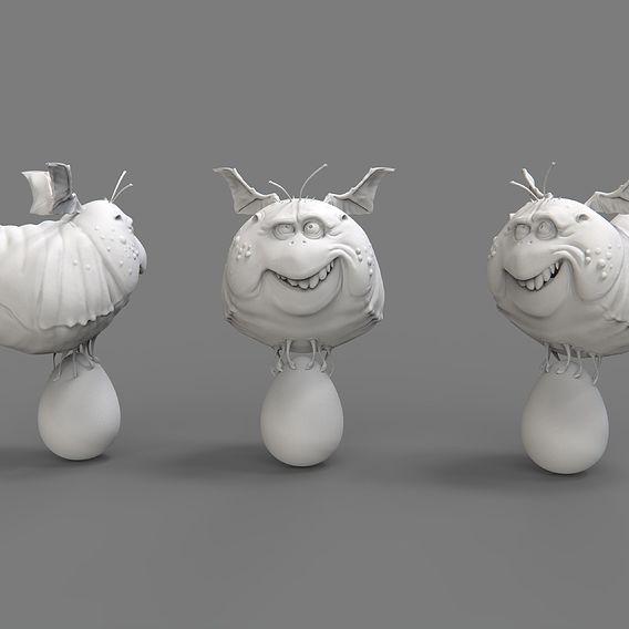 3D models concepts
