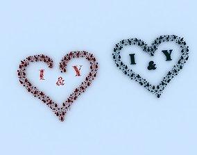 Heart valentine 3D model