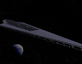 3D model STAR WARS - EXECUTOR CLASS STAR DESTROYER