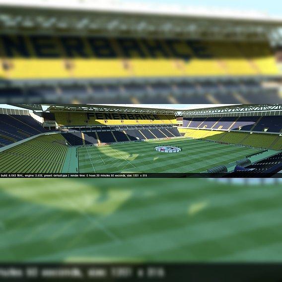 Fenerbahce Sukru Saracoglu Stadium- Turkey Final Version