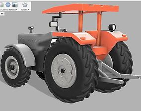 Tractor 3D print model