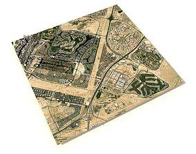 Dubai Emirates Hills United Arab Emirates 3D