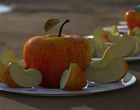Apples collection 7 type Apples 3D