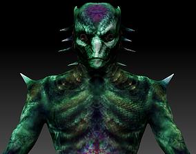 3D asset Dargos - Reptilian of the Zanfretta case - 1