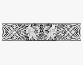 3D Celtic Ornament arch