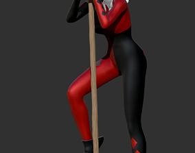 toys 3D print model Harley Quinn