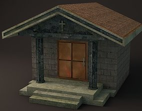 3D model Crypt 1 Lowpoly Game Ready