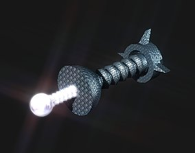 Auto Beam Space Cannon 3D model