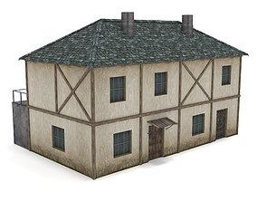 Medieval Townhouse 3D model