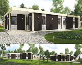Motel modular 3D model