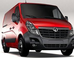 Vauxhall Movano L1H1 Van 2016 3D model