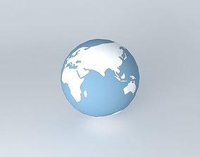 SHUTTLE IN EARTH ORBIT 3D